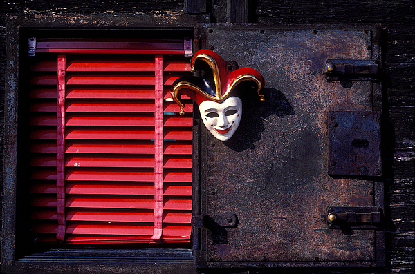 Mask Photograph - Mask By Window by Garry Gay