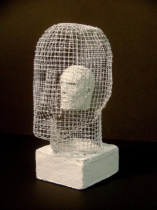 Sculpture Sculpture - Mask by Gary Kaemmer