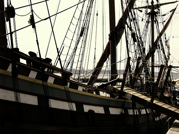 Wooden Ship Photograph - Master And Commander V2 by Douglas Barnard