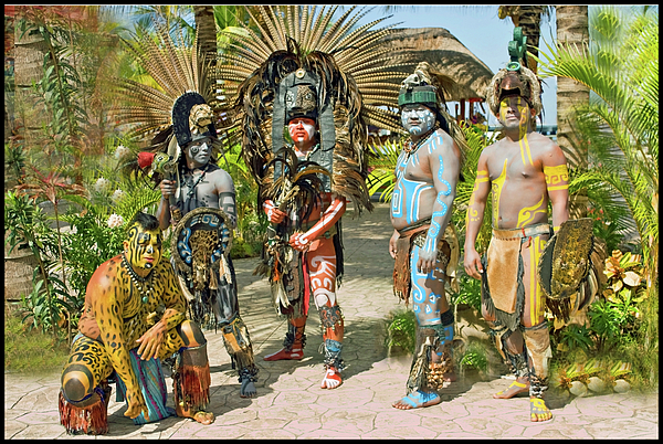 Natives Photograph - Mayans by Jorge Gaete