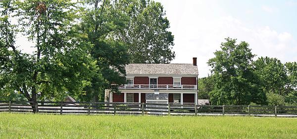 Appomattox Photograph - Mclean House Appomattox Court House Virginia by Teresa Mucha