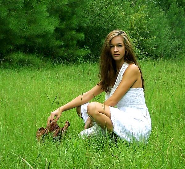 Field Photograph - Me Myself And Tripod 5 by Amanda  Sanford