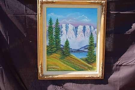 Meadow Painting - Meadow Grasses by Jesus Raya Jr
