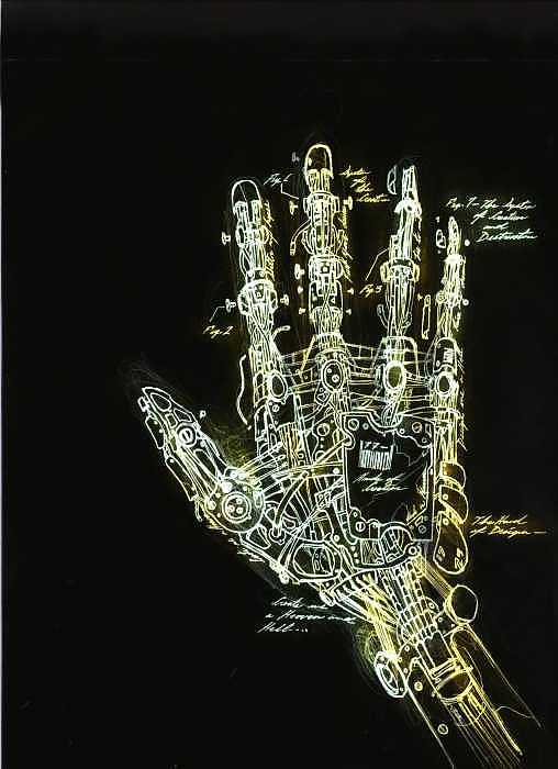 Mechanical Hand Drawing by Ralph Nixon Jr