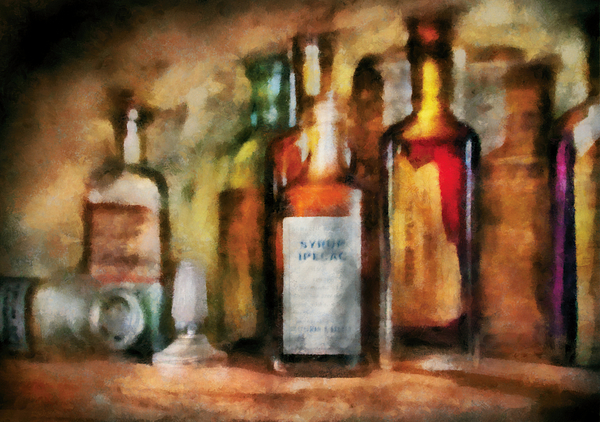 Savad Photograph - Medicine - Syrup Of Ipecac by Mike Savad