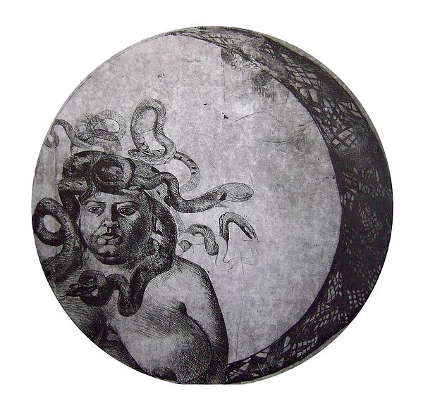 Medusa Painting - Medusa by Adina Iancu