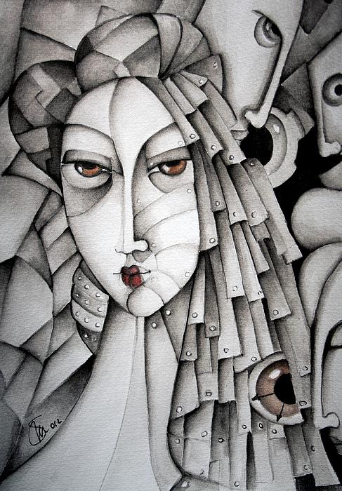 Geisha Painting - Memoirs Of A Geisha by Simona  Mereu