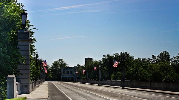 Memorial Photograph - Memorial Avenue Bridge Roanoke Virginia by Teresa Mucha