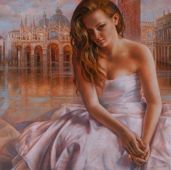Venice Painting - Memories by Arthur Braginsky