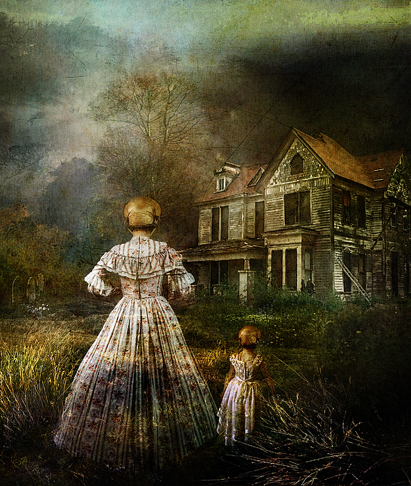 Ghostly Digital Art - Memories by Mary Hood