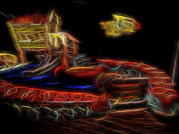 Abstract Digital Art - Memorys Playground by William Horden