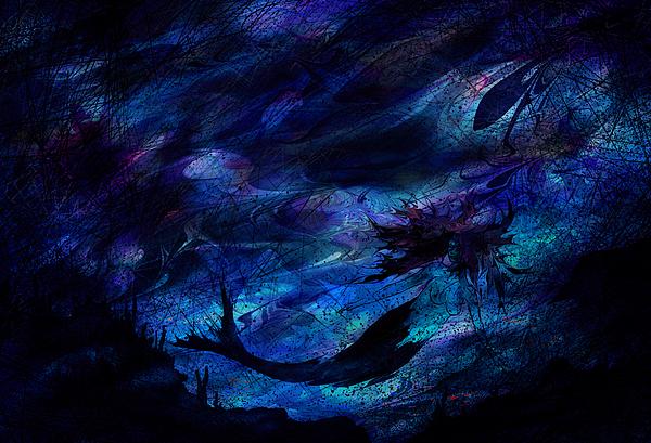Mermaid Digital Art - Mermaid by Rachel Christine Nowicki