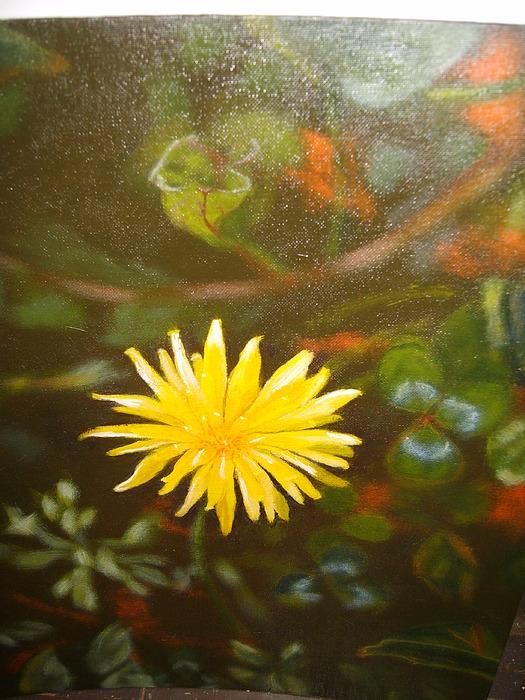 Flower Painting - Mes Peak by Cavelle Ferguson