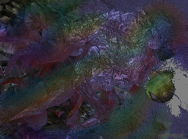 Digital Digital Art - Metallic Color by J P Lambert