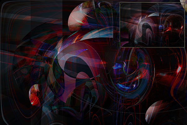 Abstract Photograph - Mhbabst by Ove Rosen