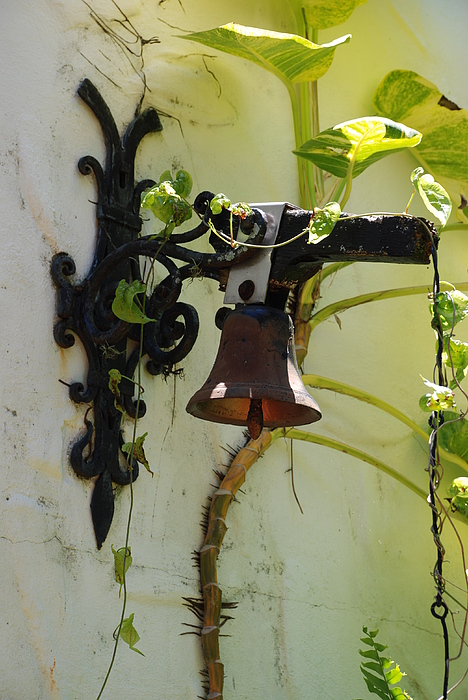 Architecture Photograph - Miami Monastery Bell by Rob Hans