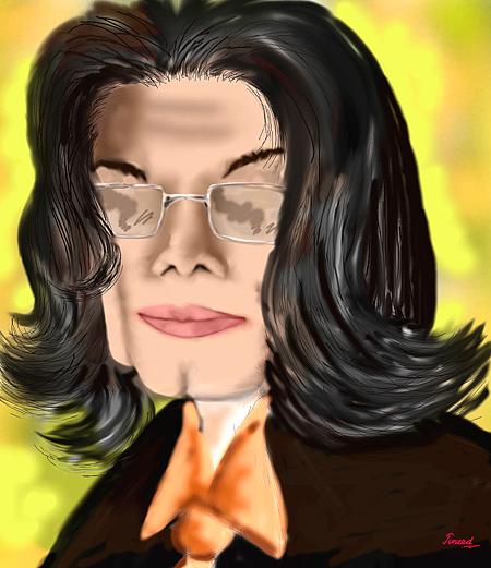 Michael Jackson Digital Art - Michael Jackson by Juneed Hameed
