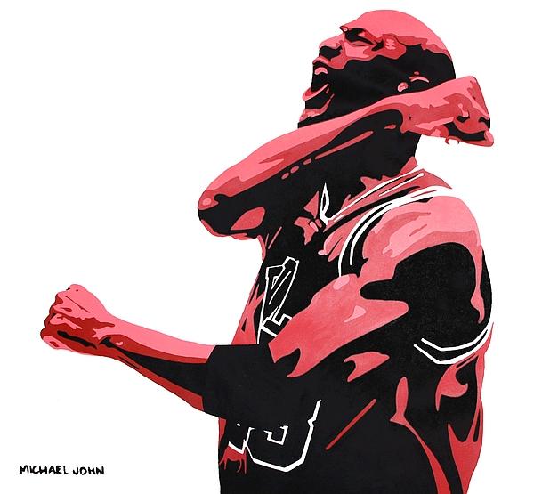 Michael Jordan Painting - Michael Jordan by Michael Ringwalt