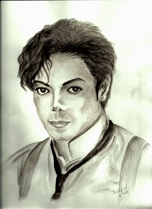Michael Jackson Painting - Michael by Nicole Wang