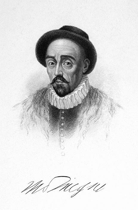 16th Century Photograph - Michel Eyquem De Montaigne by Granger