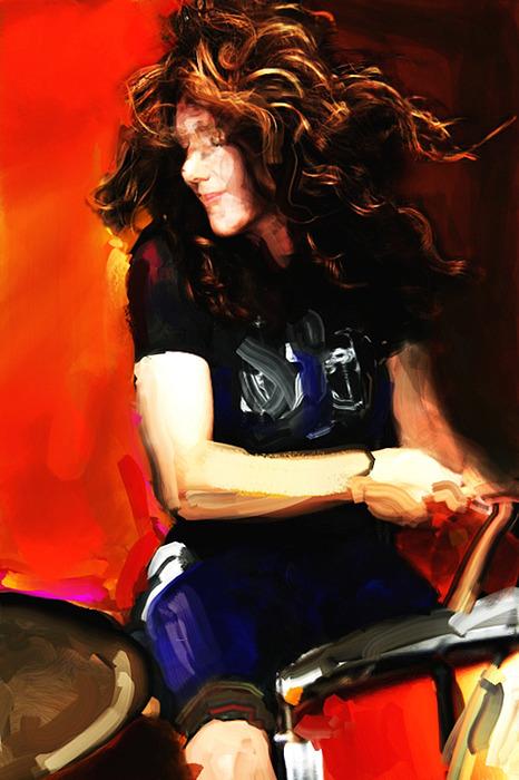 Michelle Digital Art - Michelle Mangione by James VerDoorn