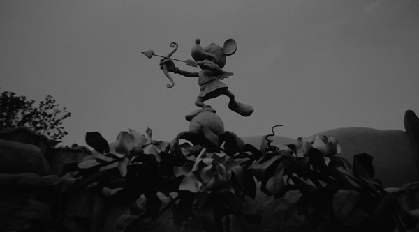 Black And White Photograph - Mickey Mouse In Black And White by Rob Hans