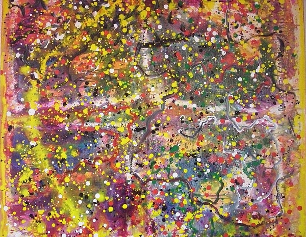 Abstract Painting Painting - Micro View by Ruth Beckel
