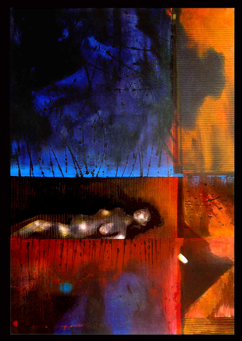Migrain Painting by Graham Hiskett