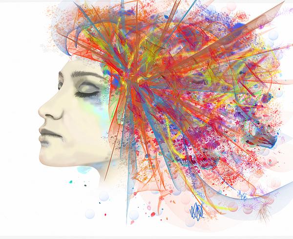 Migraine Painting - Migraine by Angela Stanton