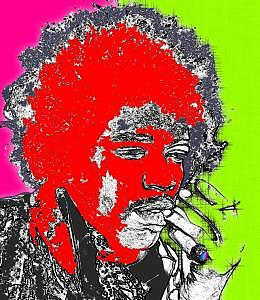Jimmy Hendrix Digital Art - Minds Eye by Jeanette Jimenez