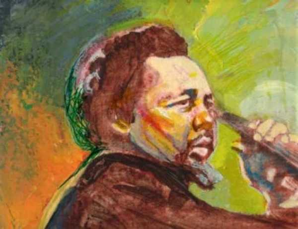 Charles Mingus Painting - Mingus by Michael Facey