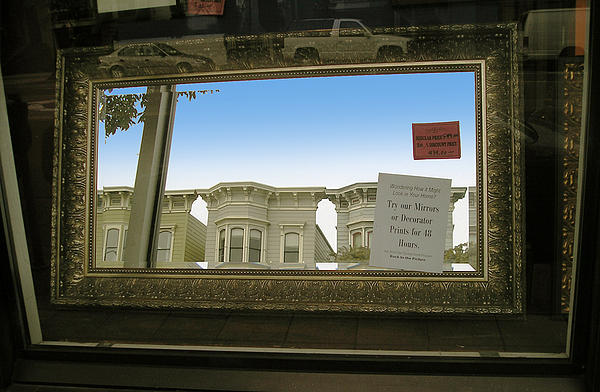 Window Photograph - Mirrors by Tom Hefko