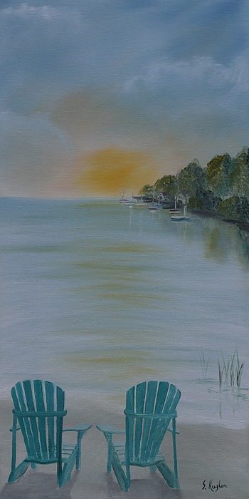 Water Painting - Missed Opportunity by Scott Kugler