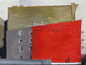 New York Painting - Missing Pieces 1 by Bill Nagel