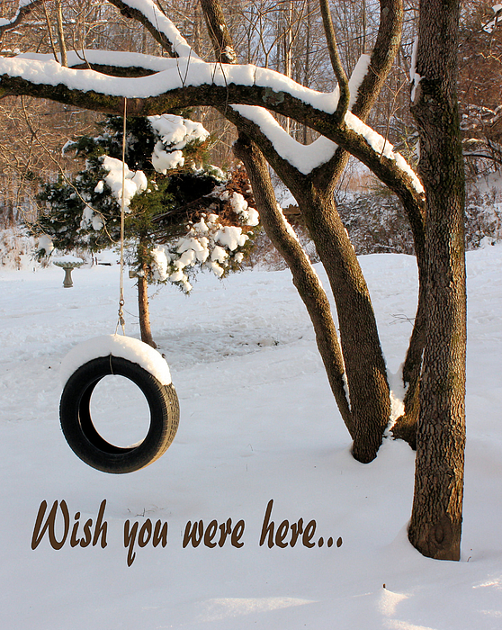 Greeting Card Photograph - Missing You by Kristin Elmquist