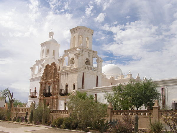 Arizona Photograph - Mission San Xavier by Jeanette Oberholtzer