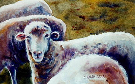 Animal Painting - Mister Smith by Joyce A Guariglia