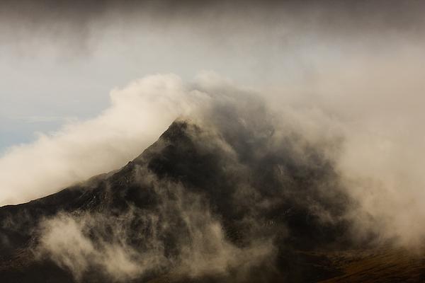 Scotland Photograph - Misty Peak by Colette Panaioti