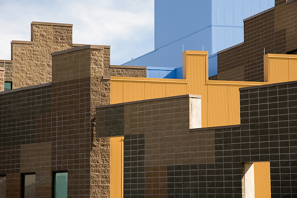 Architecture Photograph - Modern Architecture 2 by Steve Ohlsen
