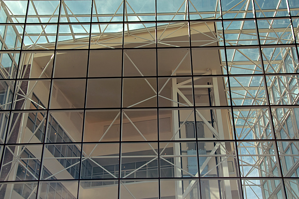 Glass Photograph - Modern Architecture 8 by Steve Ohlsen