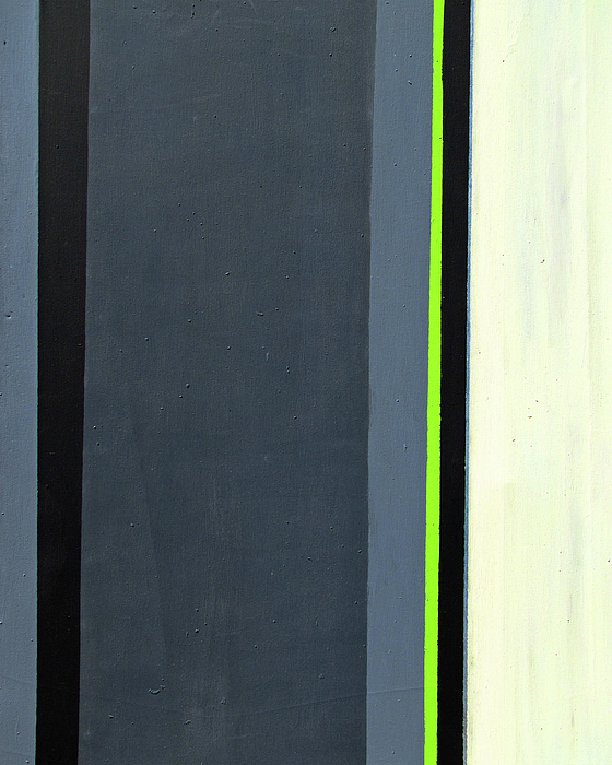 Geometric Painting - Modern Stripe 2  by Slade Roberts