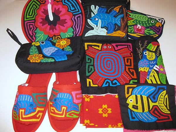 Mola Tapestry - Textile - Mola by Rita  Smith