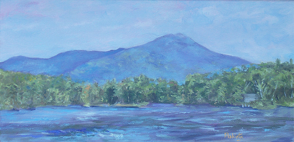 Mt. Monadnock Painting - Monadnock Serenity by Alicia Drakiotes