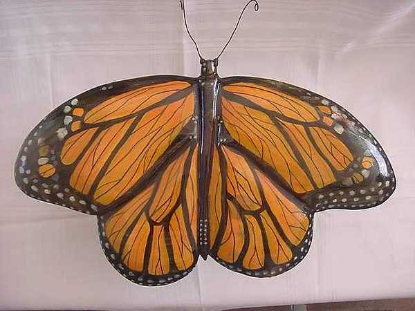 Dated Painting - Monarch Butterfly-sold by Lisa Ruggiero
