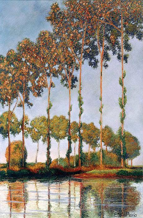 Monet Painting - Monet by Eduardo De La Maria