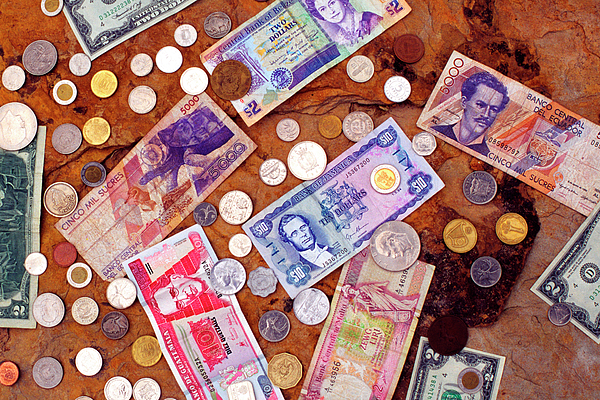 Currency Photograph - Money From Around The World by Thomas R Fletcher