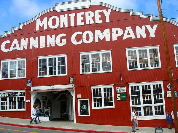 Landscape Photograph - Monterey Canning Company by Candace Garcia