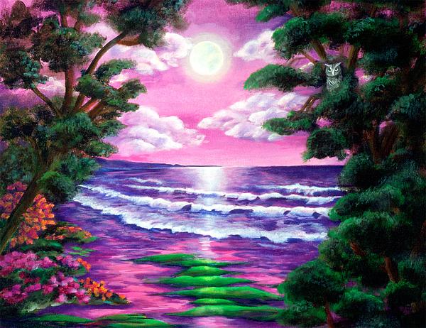 Ocean Painting - Monterey by Diana Lehr