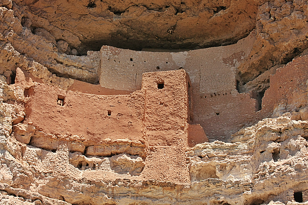 Culture Photograph - Montezuma Castle - Special In Its Own Way by Christine Till