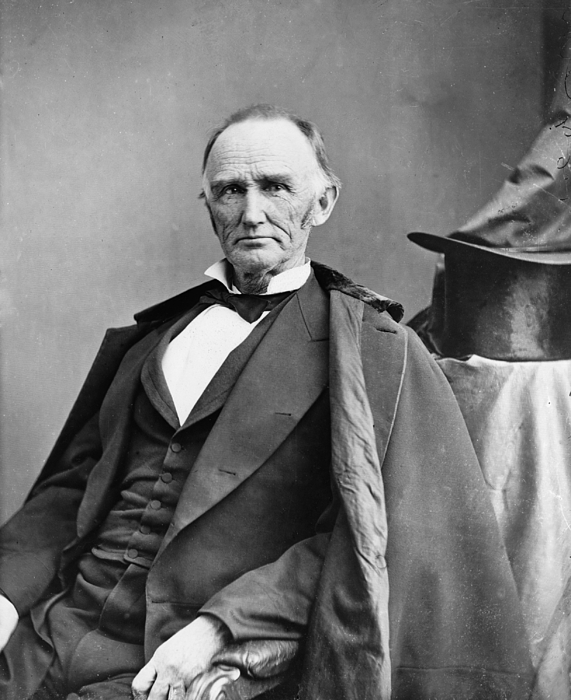 History Photograph - Montgomery Blair 1813-1883 Was Among by Everett